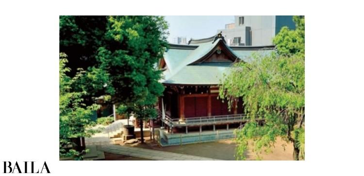 鳩森八幡神社(東京)