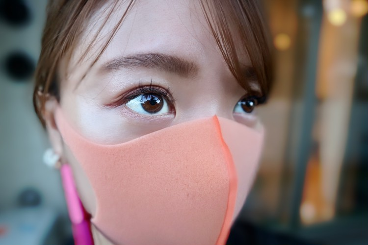 【マスクメイク】半額で買ったモテライナーでピンクeye♡_2