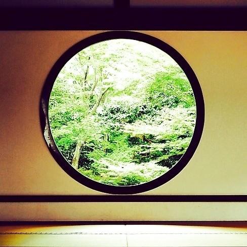 源光庵,『悟りの窓』と『迷いの窓』_1