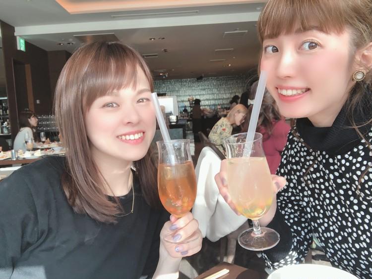 ドット柄がかわいい♡ZARAのワンピースでホテルランチ_4