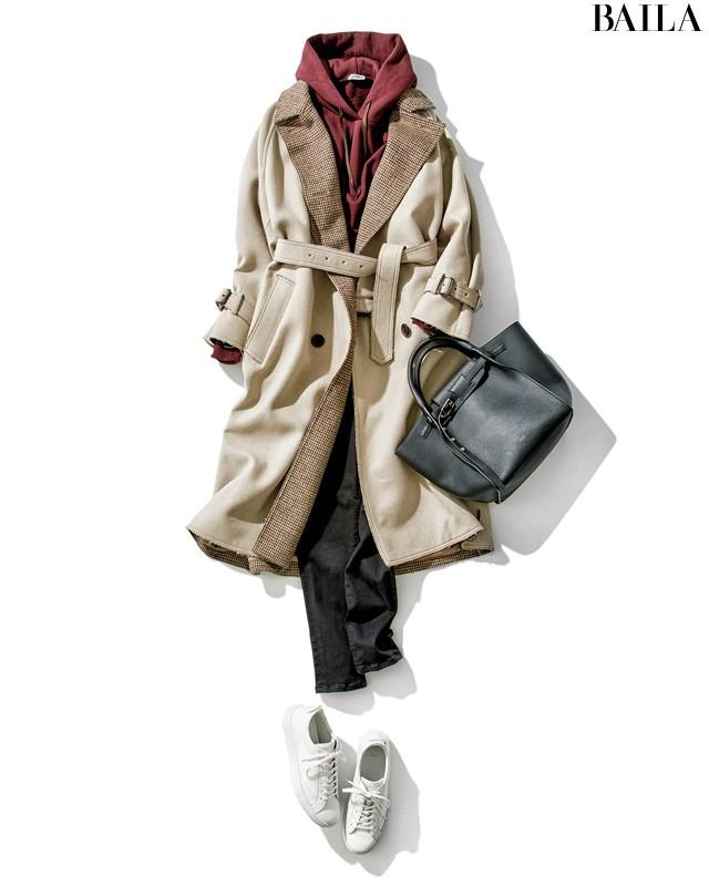 2018-19冬【ウールコート】5年先も着られる人気の新作31選(30代レディースファッション)_1_15