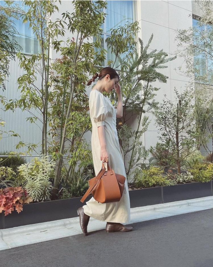 【LOEWE(ロエベ)】3Wayハンモックバッグの使い心地・サイズ感をレポート_7