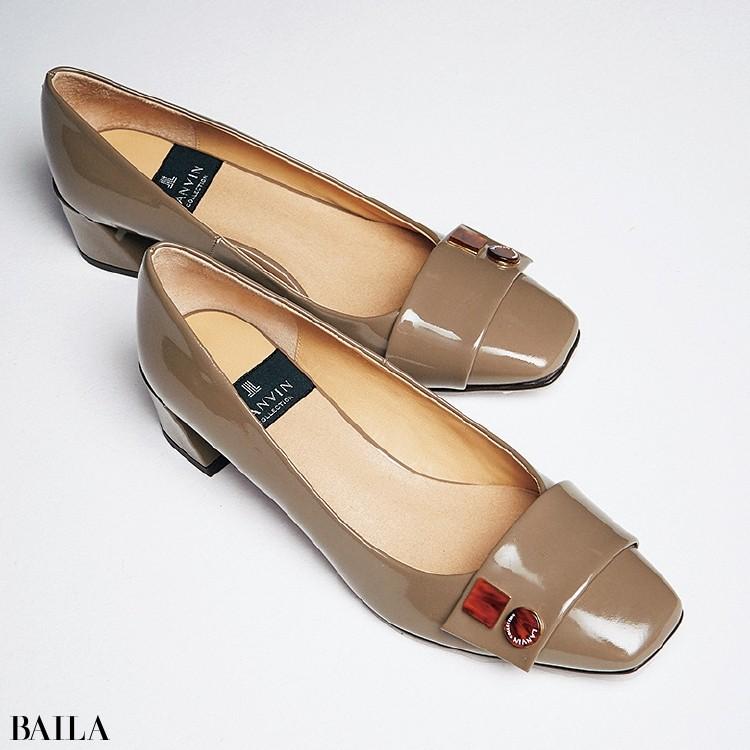 ランバン コレクションの靴