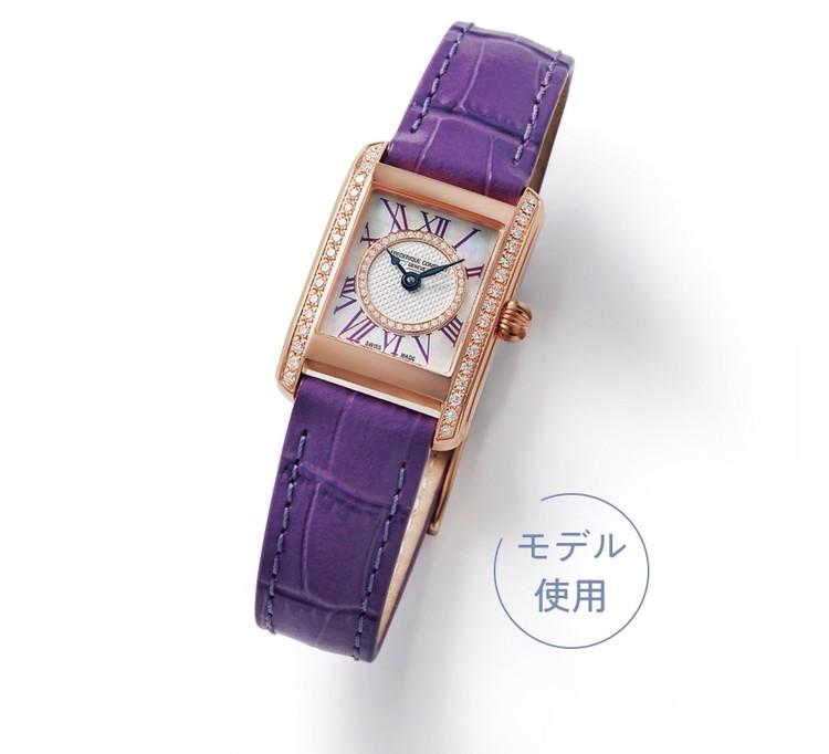【上質な腕元がもたらす、自信と洗練】新しい毎日に、フレデリック・コンスタントのレディな時計を_2