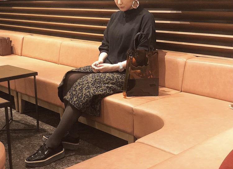 【コーデ】購入品UNIQLOスウェット×特別付録タイツ_5