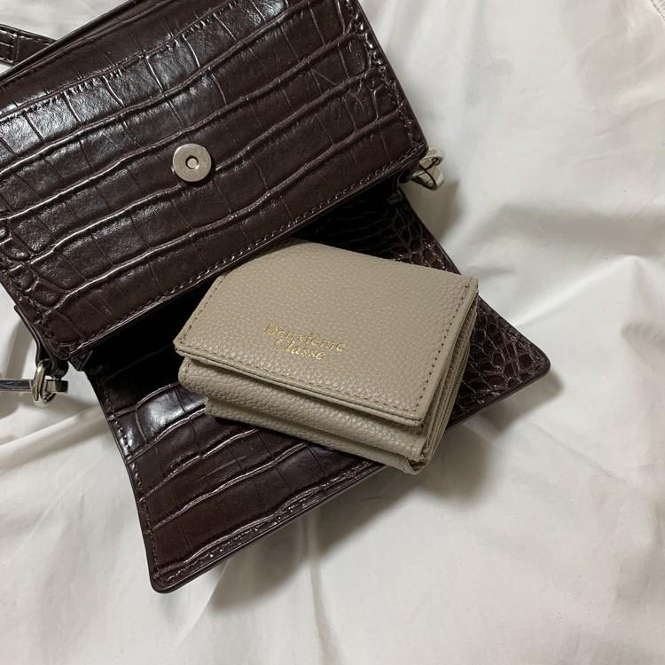 4月号の付録『Deuxieme Classe』ミニ財布♡_8