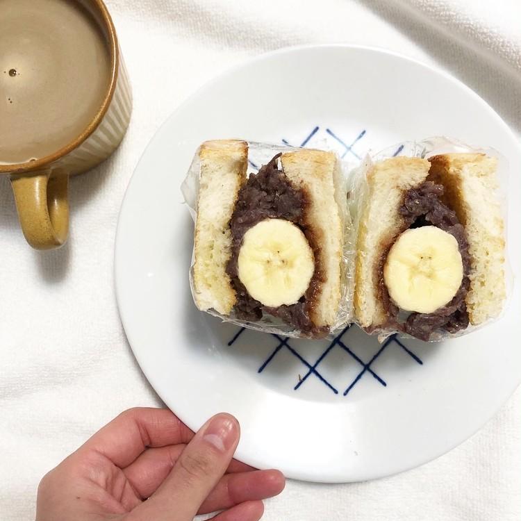 #おうち時間  実は簡単‼︎萌え断サンドで朝ごパン_5