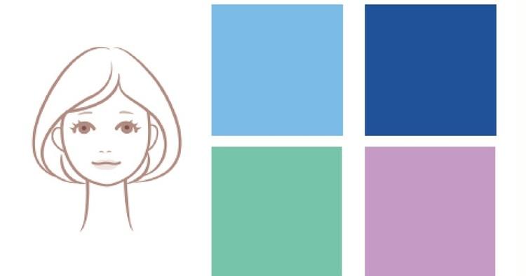 浴衣カラー診断 女顔×ブルベ肌