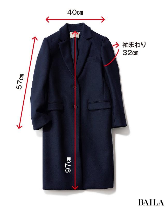 2018-19冬【ウールコート】5年先も着られる人気の新作31選(30代レディースファッション)_1_18