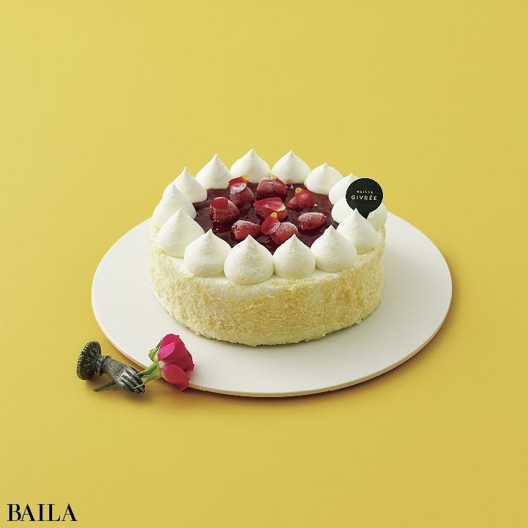 ギフトとしても贈れる!冷凍ケーキ【伊勢丹新宿店〈メゾンジブレー〉の木苺のレアチーズ ジブリー】
