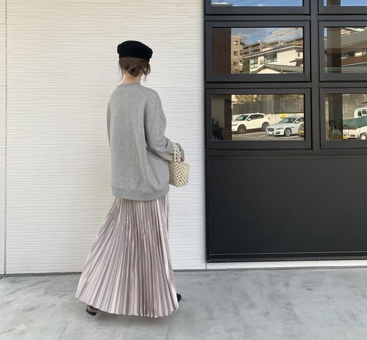 【購入品】春にマスト。fifthのプリーツスカート_4