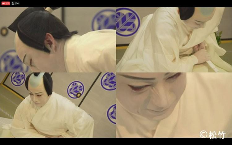 松本幸四郎の図夢歌舞伎の忠臣蔵4アングル