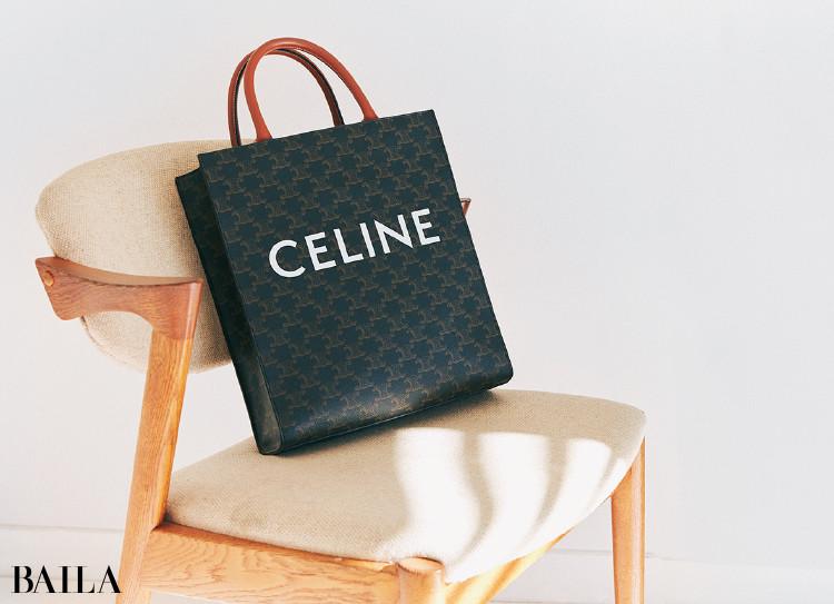佐藤佳菜子さんの私物 セリーヌのバッグ