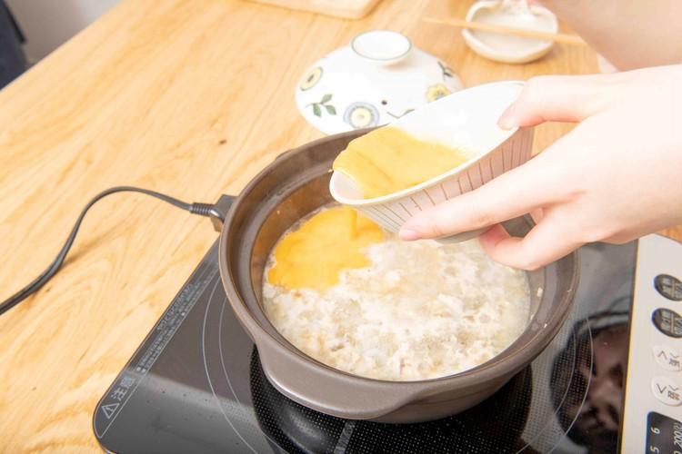 【わたしのための癒しご飯】料理家はるあんの鶏そぼろおじやレシピ_7