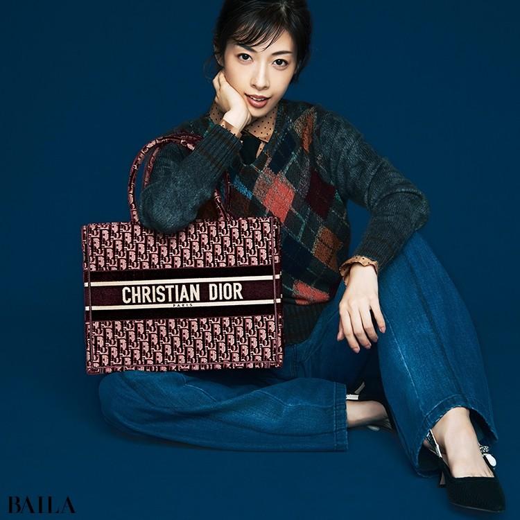 【画像】明日海りおさん×憧れブランドの新作バッグ_1