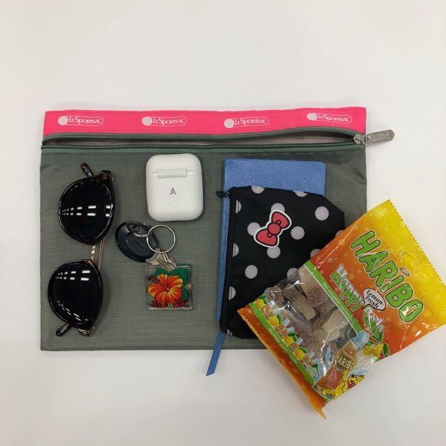 【9月号付録レスポのポーチ】夏の愛用カゴバッグの中身をスマートに整理してくれる優れモノ♡_1_2