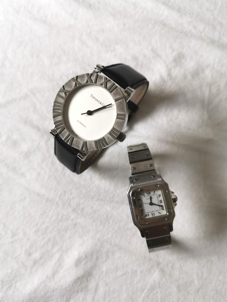 カルティエ、ティファニーの時計