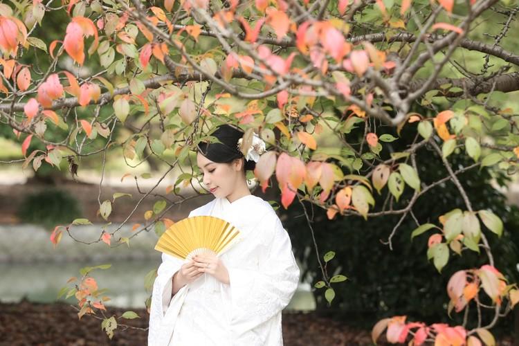 【wedding】和装前撮りレポ〜都内ロケーションフォト〜_4