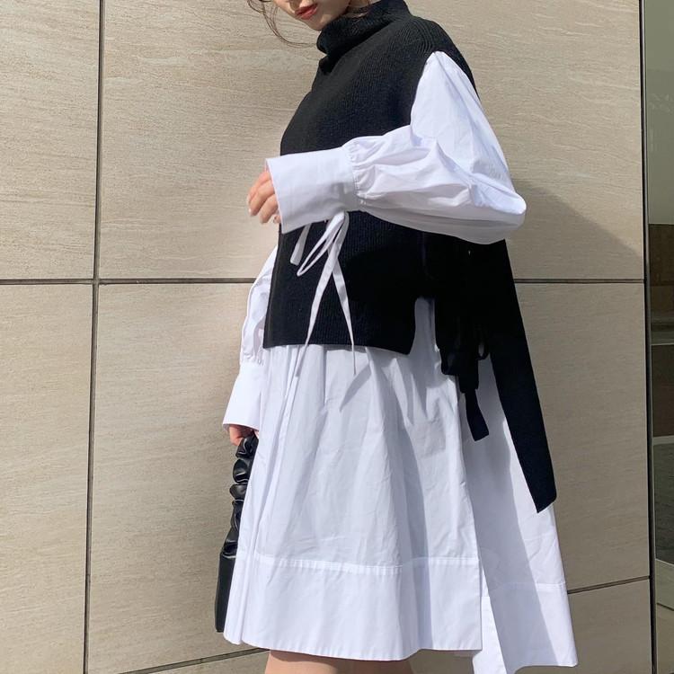 【春の購入品】着映えシャツワンピ_3