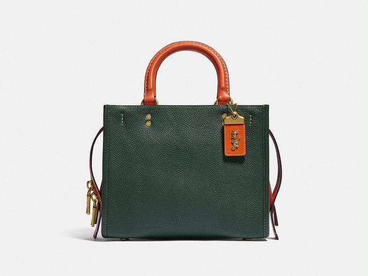 コーチのバッグ、ローグ グリーン