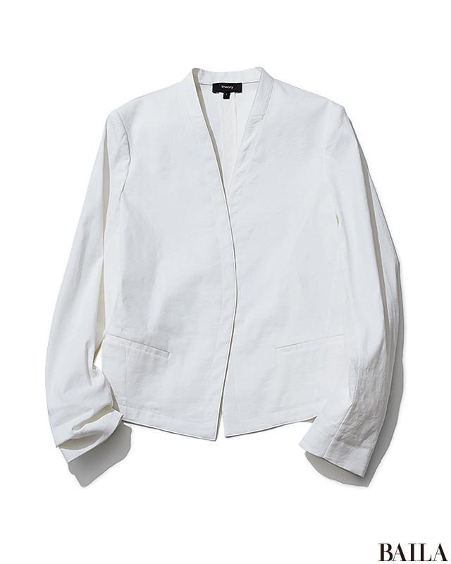 きれい色に合わせてガンガン着回す【白&ブルーのベーシック服】7選_1_2