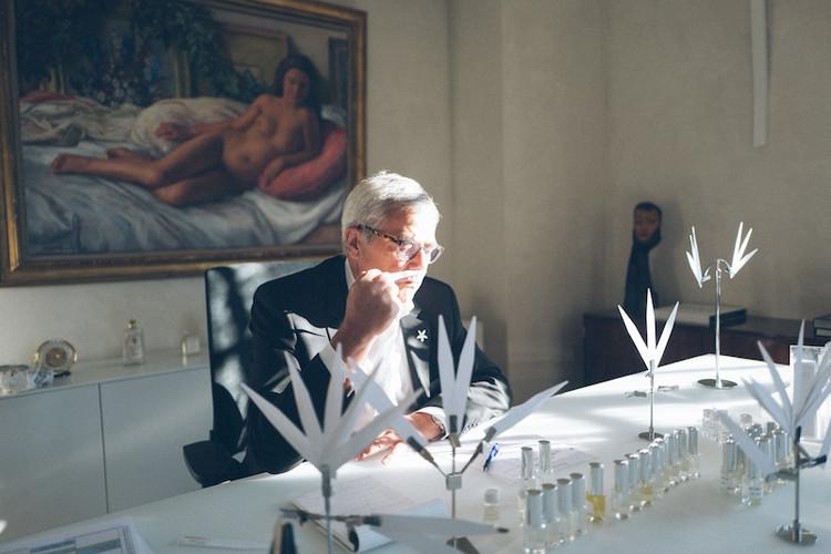 ディオール専属の調香師フランソワ・ドゥマシー