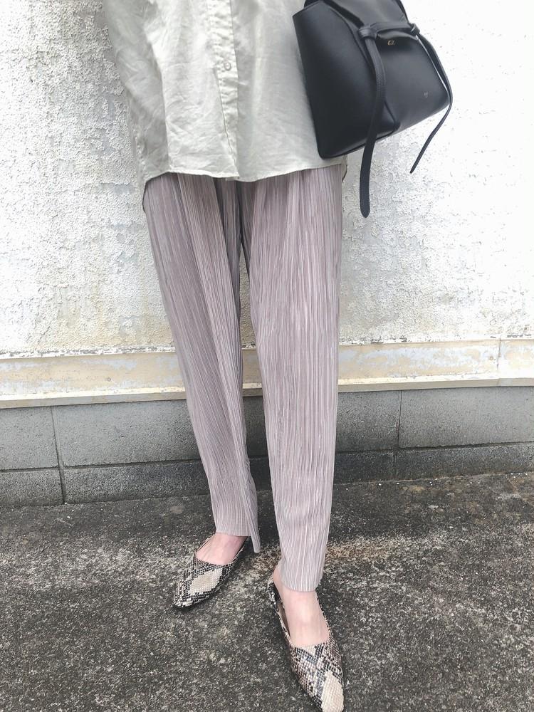 【DHOLIC】プチプラ!プリーツパンツを着回し♡_1