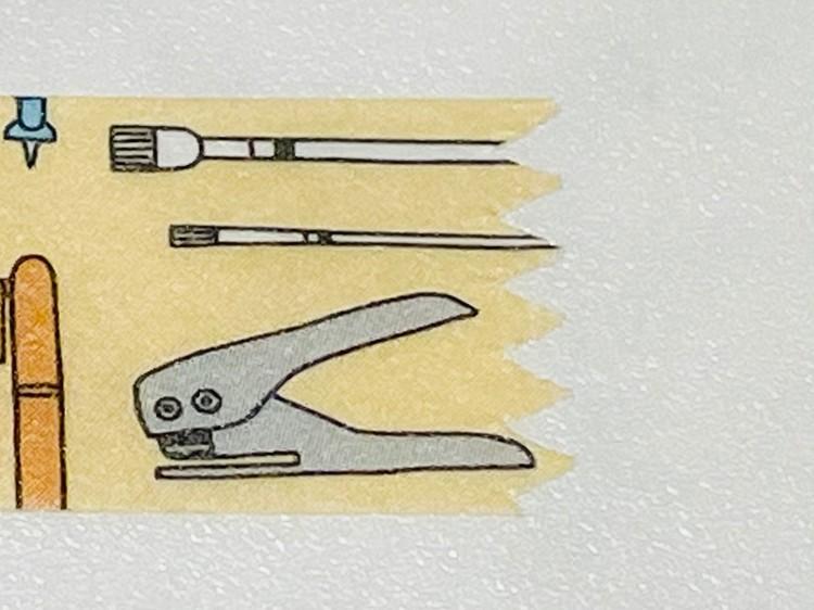 【ダイソー便利グッズ3】マスキングテープケース(カッター付き)の切り口