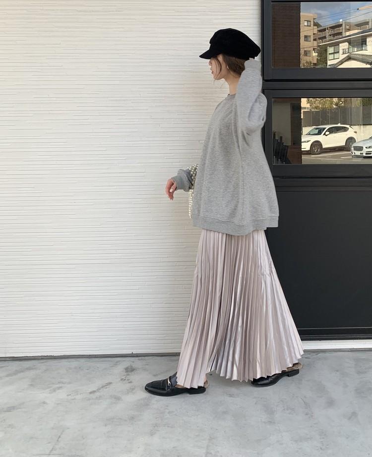 フィフスのプリーツスカート