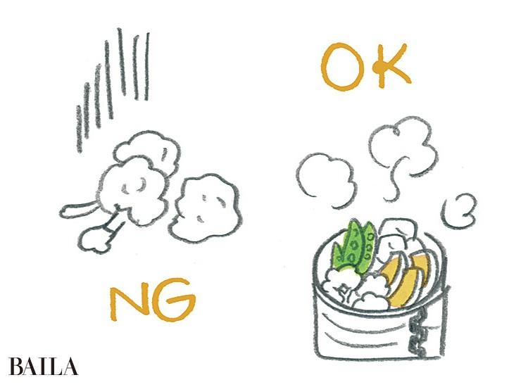 【NO!糖化習慣1 】「焼く」「揚げる」を少なくして 「ゆでる」「蒸す」料理を!