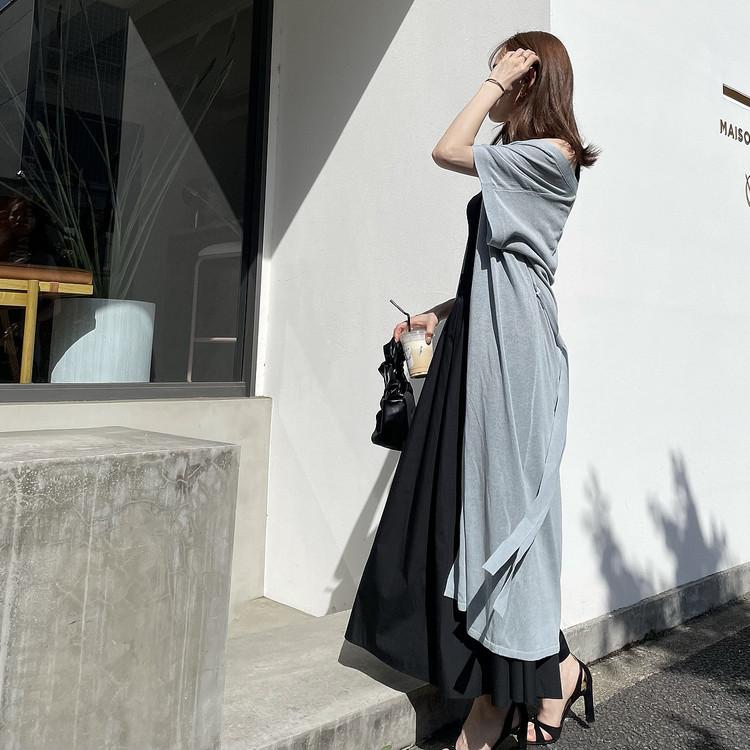 絶対買い♡GU新作!お手入れ簡単な高見えロングスカート_6