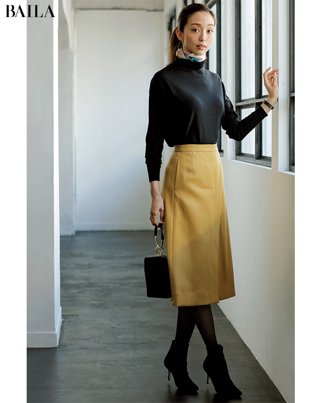 きれい色スカート