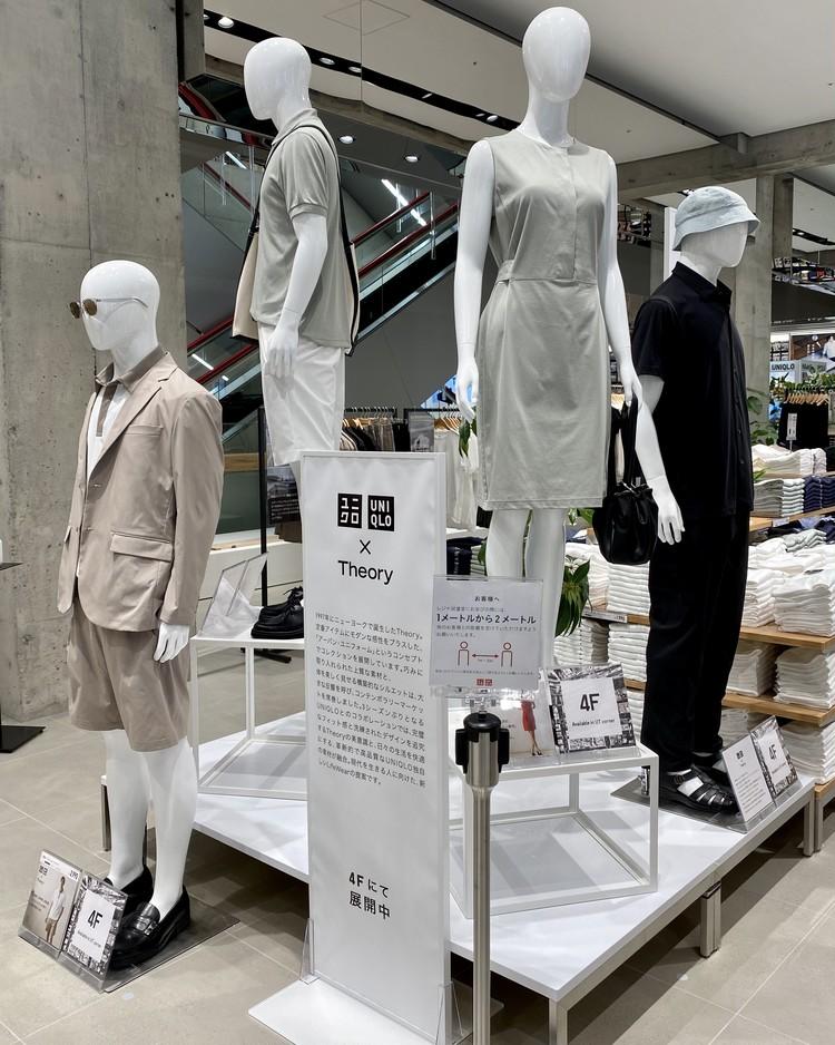 ユニクロセオリーコラボワンピース ユニクロ トウキョウ(UNIQLO TOKYO)店内画像3 メンズ ウィメンズ
