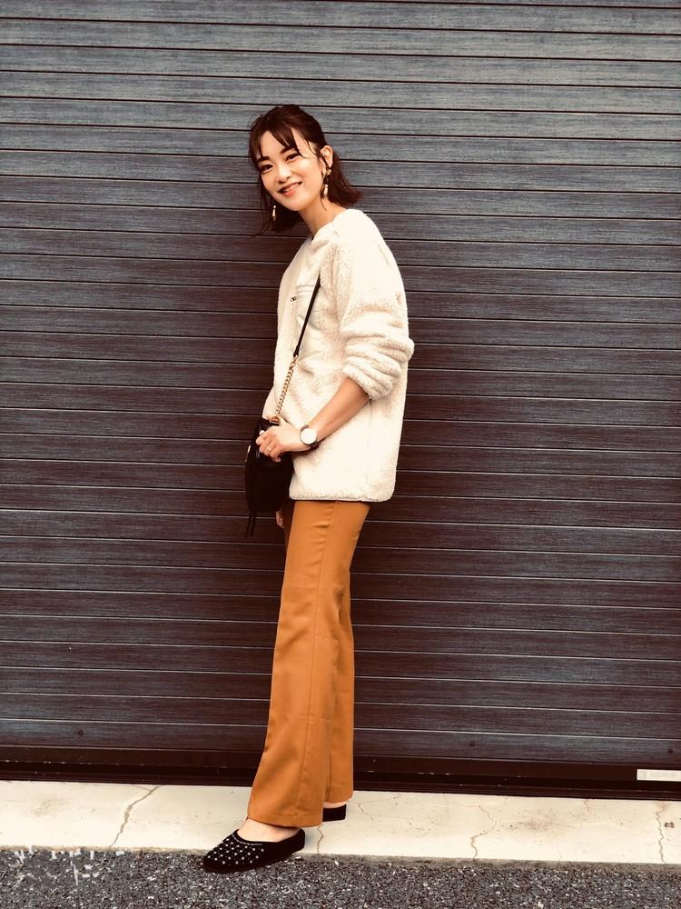 【UNIQLO】話題のトップスで休日ブラウンコーデ♡_3