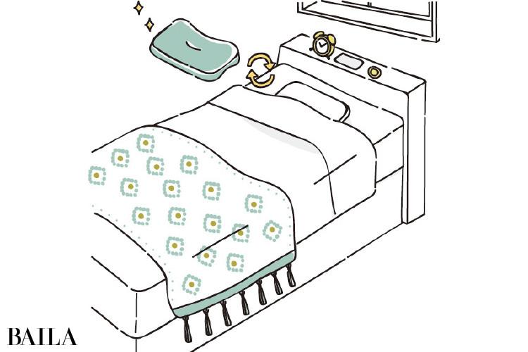 自分に合う枕でリラックス
