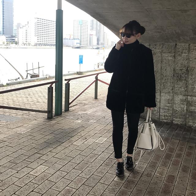 【週4ブランド】ZARAでオールブラックコーデ♡_1