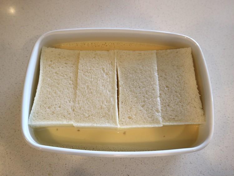 ふわっとろ【ホテルオークラ風フレンチトースト】を朝食に♪_4
