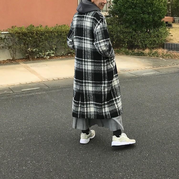 ¥3900コートに¥280タイツ【しまむら】 #しまパト で狙いたい本当にコスパがいい服はコレ!_6