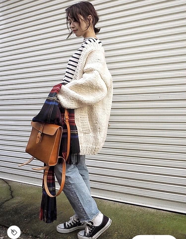 【コーデ画像】重い冬コートからチェンジ!春色あったかカーディガンを着よう♡_2