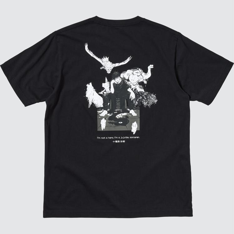 伏黒 恵のTシャツ裏面