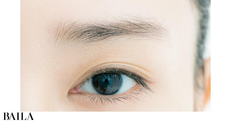 ふんわりながらも眉の形がキレイに整う