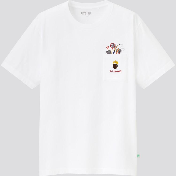 あつまれ どうぶつの森 UT グラフィックTシャツ(半袖・レギュラーフィット) 白