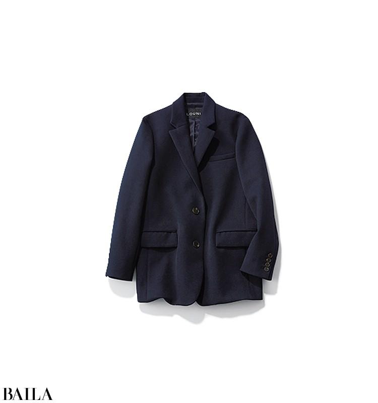 役員と会う日は、ジャケット×白シャツにきれいめパンツのコーデ【2020/2/11のコーデ】_3_4