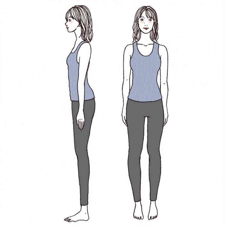 【着やせ骨格診断】自分の体型を知って上手に細見え!