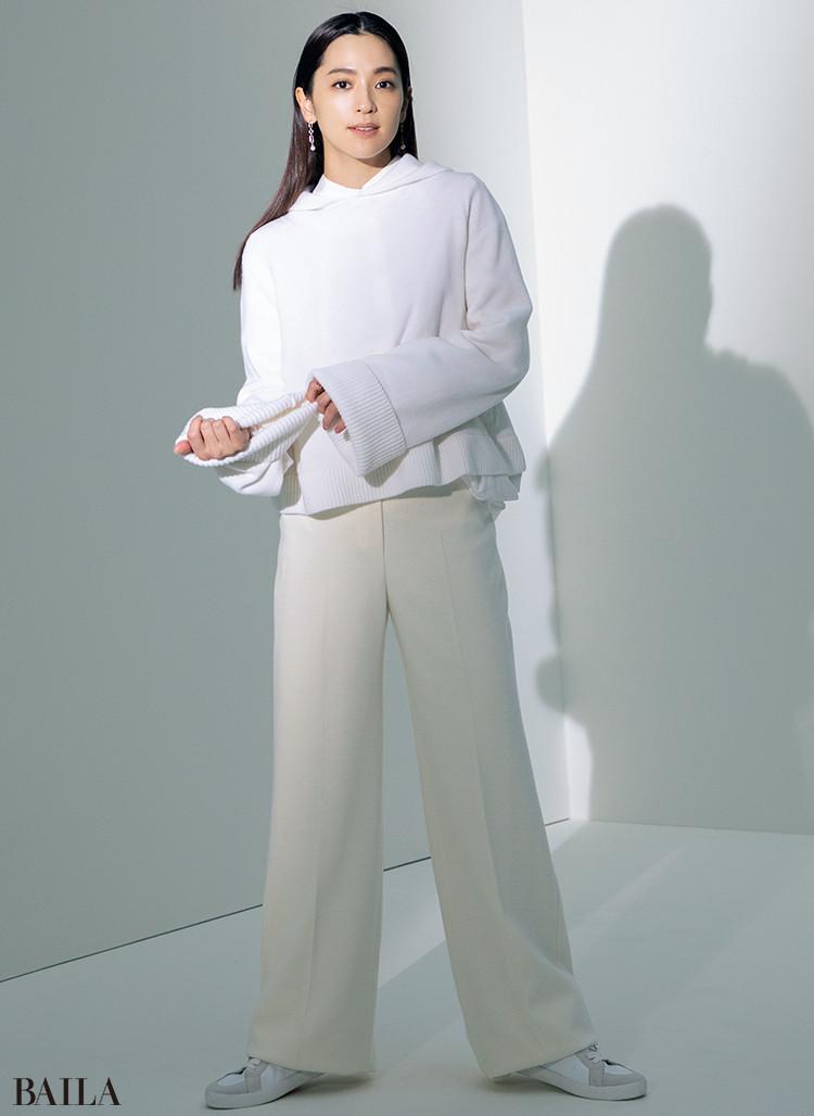 White × OFF WHITE【白とオフホワイト】