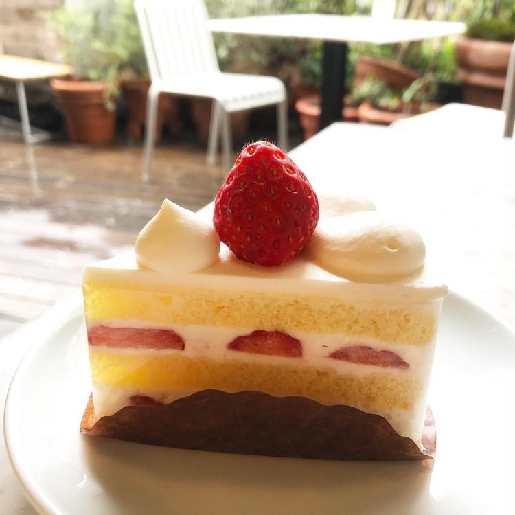 口の中でとろけるふわふわショートケーキを渋谷のカフェで…♡_4