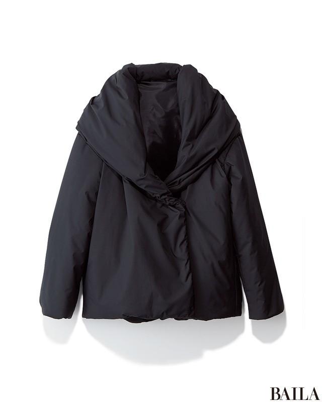 コートの中の色を統一すれば、ダウンでもやせ見えコーデに!_2_1