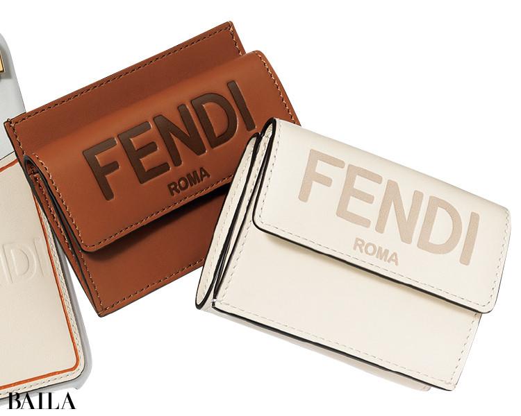 フェンディの財布とカードコインケース