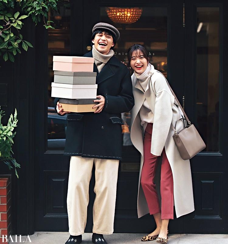 華アイテムで冬のイベントを華麗に過ごす!【30代の着回し1週間コーデ】_1_3