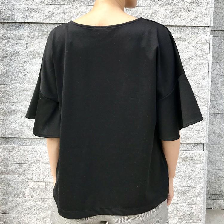 ¥990で大人女子も高見えきれい!【ジーユー(GU)】超高コスパTシャツ&トップス人気4選_5_5